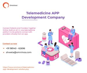 Telemedicine App Development Company in Chandigarh | Omninos Solutions